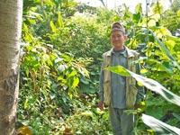 Jas Ram Tamang im Agroforst-Betrieb, 2013