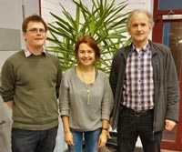 Vorstand: Niels Schwab, Nina Kiese, Prof. Dr. Udo Schickhoff.