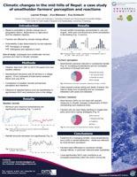 Poster zur Masterstudie Klimawandel Leonie Kreipe